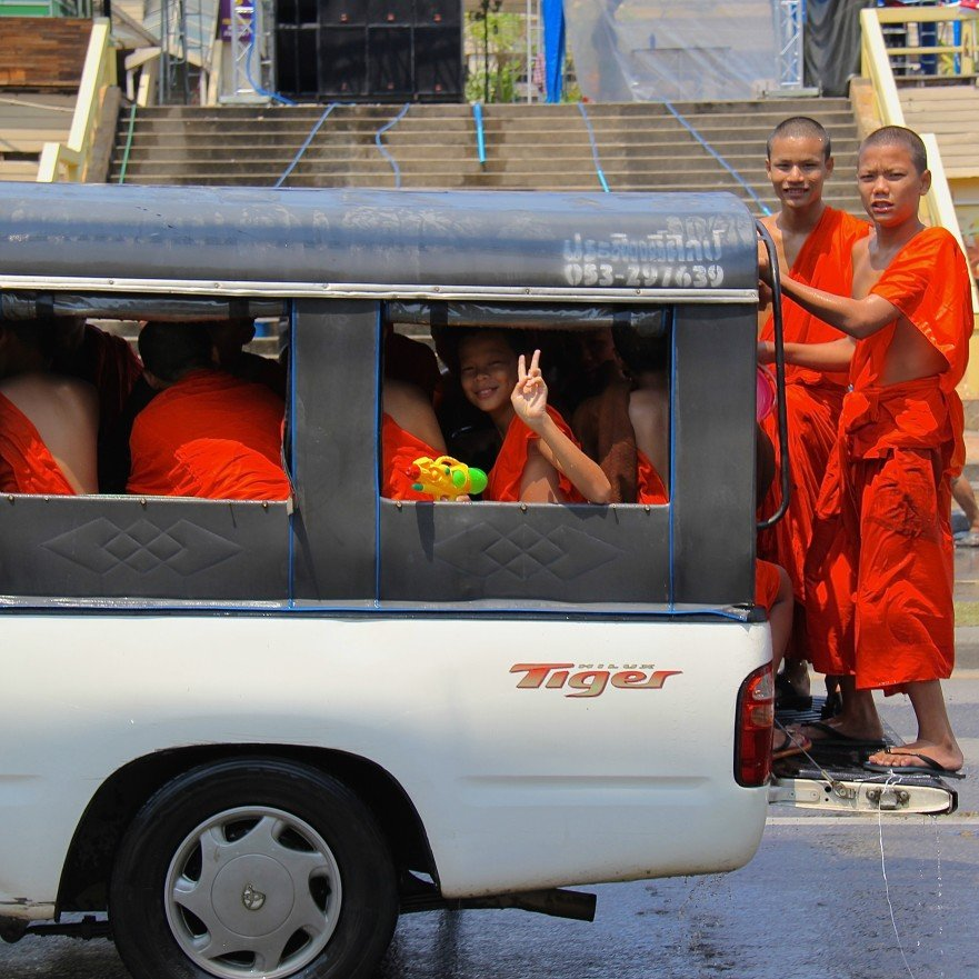 Happy New Year From Thailand – Songkran Festival