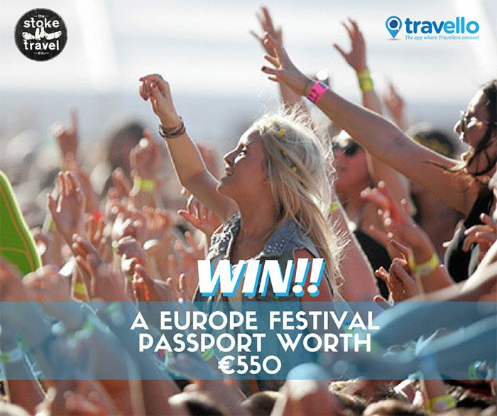 2017 Europe Festivals Tickets | Win a €550 Europe festival pass plus 12 nts accommodation