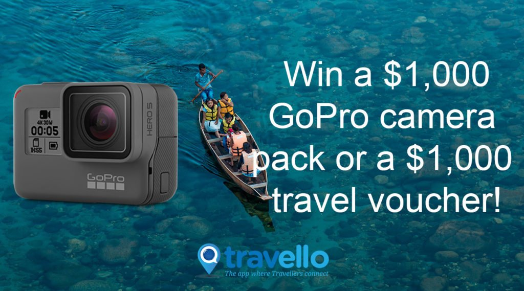 Create Your Own Travel Reality Shows By Winning Our GoPro Pack