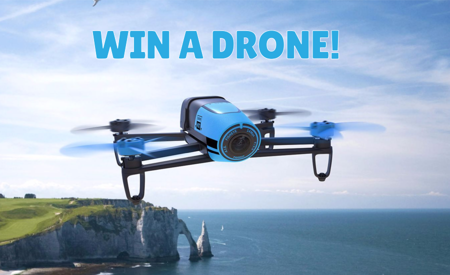 Win A New Drone To Take To The Air On Your Next Travel Adventures