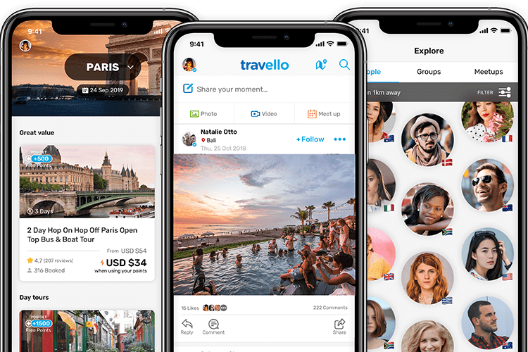 Connect with travellers and feel less lonely during covid