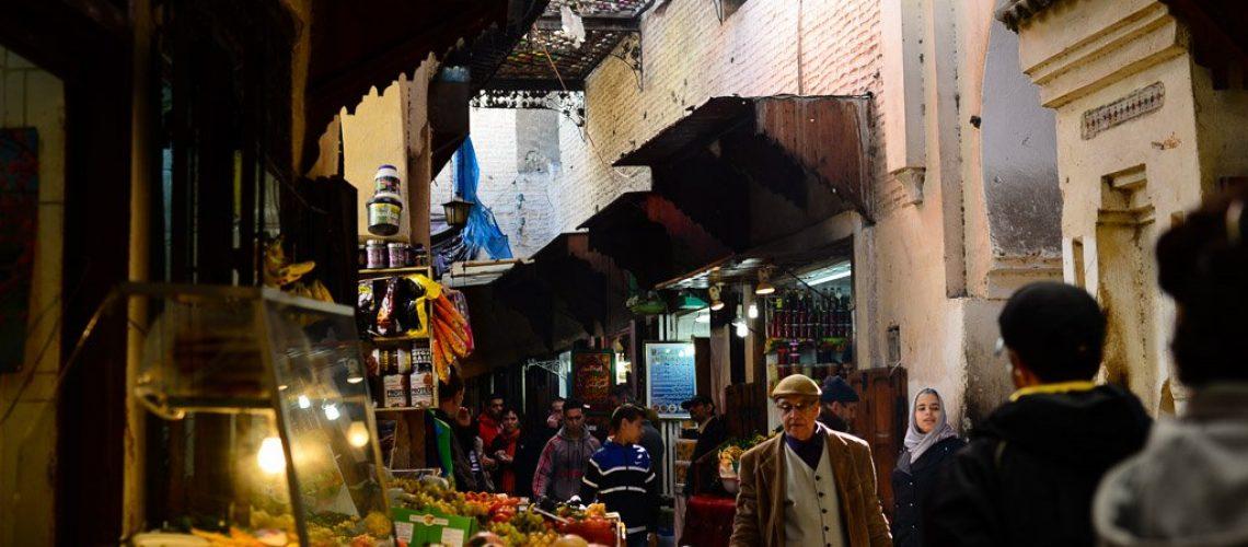 Souqs, Fez medina, Morocco-2