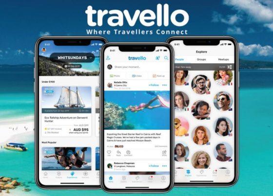 Travello App Facebook Share Image
